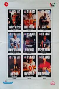 1992 Chef Boyardee It's A Fact Poster