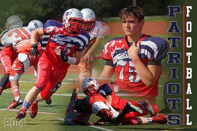 2014 Josh Slavin Patriot Football