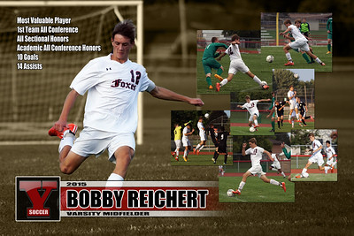 2015 Bobby Reichert Yorkville Soccer Poster