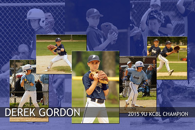 12x18 Derek Gordon Champion Poster