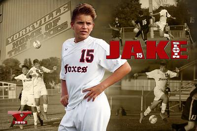 2015 Jake Slavin Yorkville Varsity Soccer Poster Revised