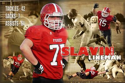 2015 Josh Slavin JV Football Posters