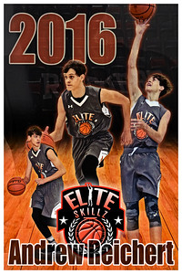 2016 Andrew Reichert Basketball Poster Glow 2