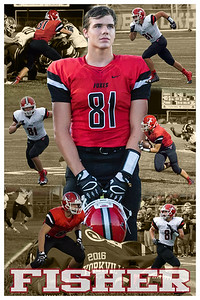 Fisher Football Poster 2
