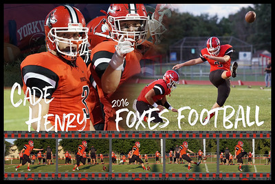 2016 Henry Football Poster Filmstrip