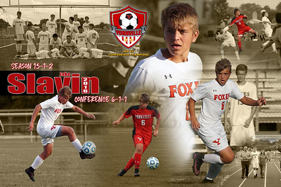 Jake Slavin Soccer Poster 2