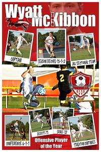 Wyatt McKibbon Soccer Poster