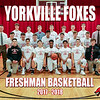 11x14 Yorkville Foxes Freshman Basketball Team Picture