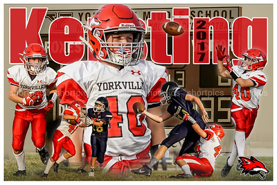 2017 Blake Kersting Football Poster