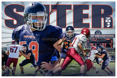 2017 Brice Suter Football Poster