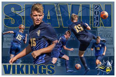 2017 Jake Slavin Soccer Poster