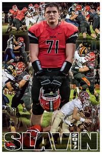 2017 Josh Slavin Football Poster