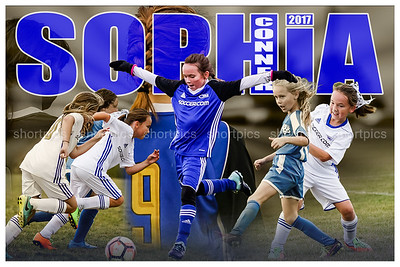 2017 Sophia Connor Football Poster Fade 2