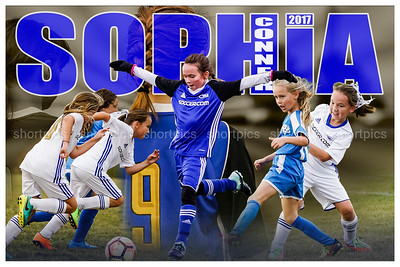 2017 Sophia Connor Football Poster Fade