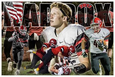 2017 Zach Haddox Football Poster 2