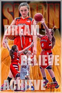 2018 Sydney Fury Basketball Poster