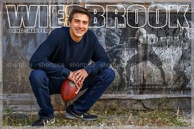 Wiesbrook Football Senior Picture Poster