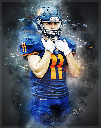 11x14 2019 Antonio Orozco Football Print