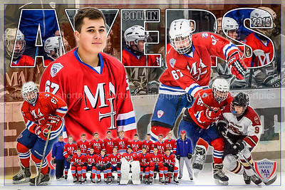 2019 Collin Ayers Hockey Poster