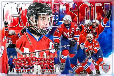 2019 Jake Carlson Hockey Poster 2