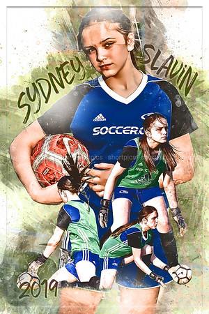 Syd Slavin Soccer Poster Epic Grunge