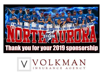 8x6 Volkman Thill Team Sponsor Figure for 10x8 Plaque