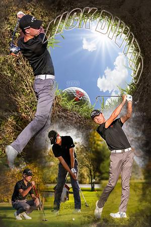 24x36 Nick Divito Golf Poster 2