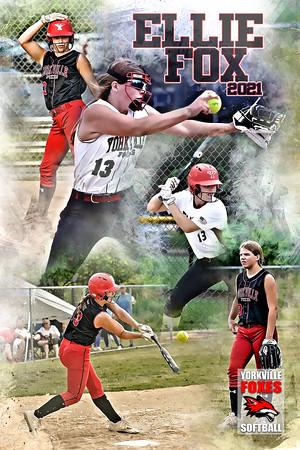 Ellie Fox Softball Poster
