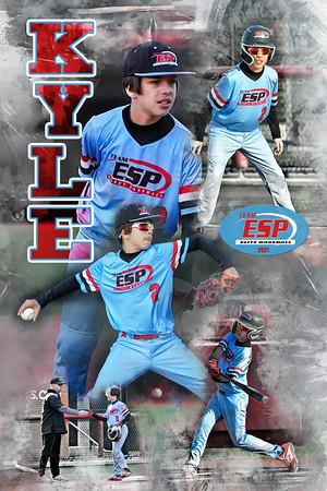Kyle Eydenberg Baseball Poster