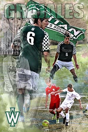 24X36 Grajales Soccer Print