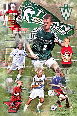 24X36 Bobby Reichert Soccer Print 3