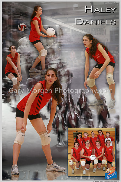 Athlete Posters - Volleyball