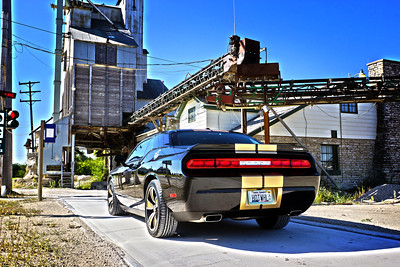 Challenger at Quarry on Scale 2