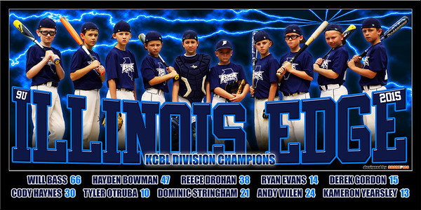 2015 10U Illinois Edge Team Poster