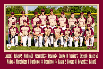 Crusaders Team Poster Two Rows Revised IMPACT 20x30