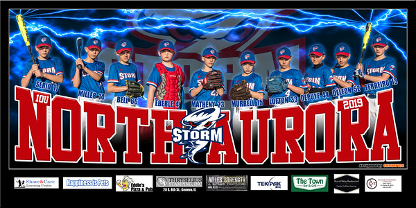 2019 10U North Aurora Storm Team Banner Two Lightning Final 3