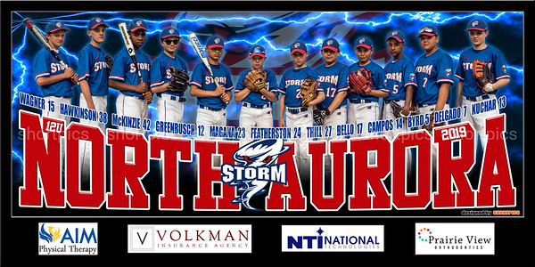 2019 12U Thill North Aurora Storm Team Banner