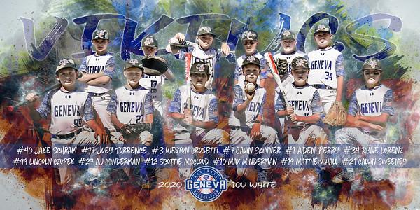 U10 Geneva Vikings McCloud Baseball Poster without logos