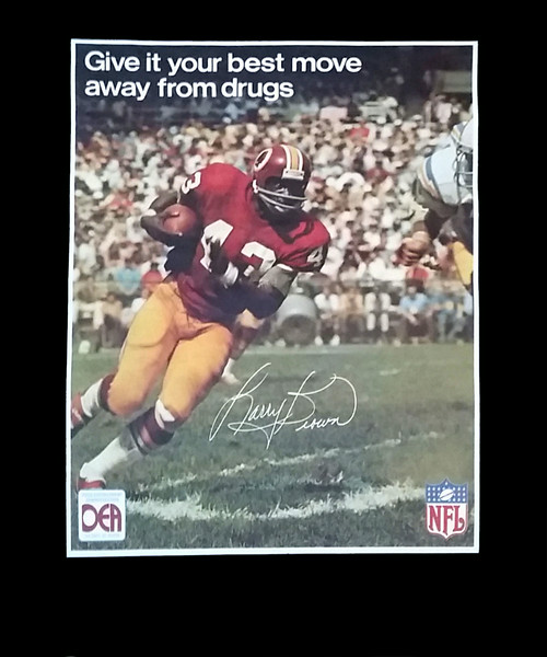 Larry Brown 1973 DEA Poster