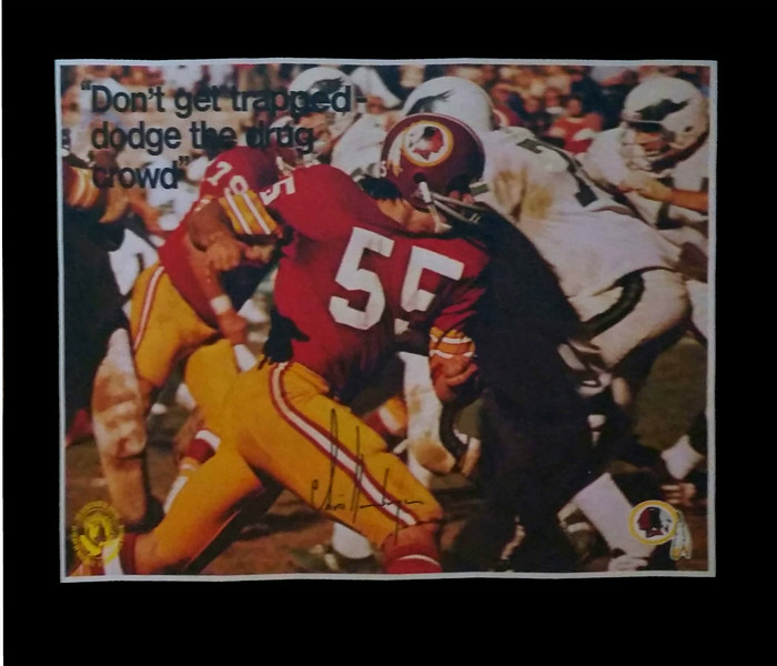 Chris Hanburger 1972 BNDD Poster