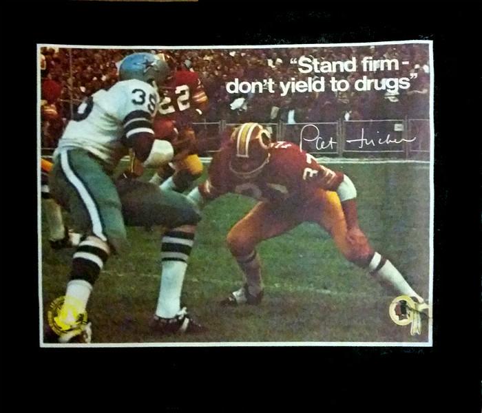 Pat Fischer 1972 BNDD Poster