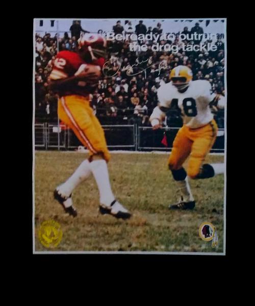 Charley Taylor 1972 BNDD Poster