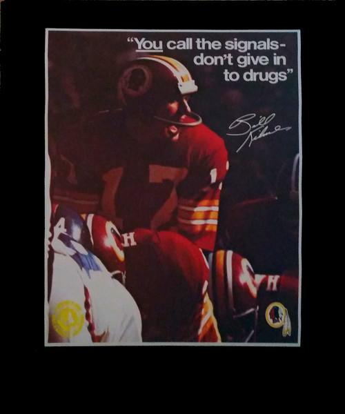 Bill Kilmer 1972 BNDD Poster