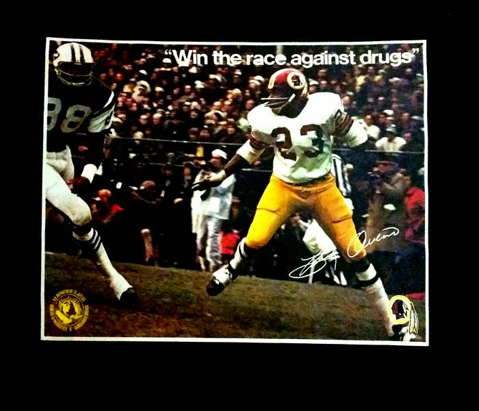 Brig Owens 1972 BNDD Poster