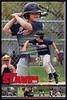 Jarek Slavin Filmstrip Horz Baseball Poster