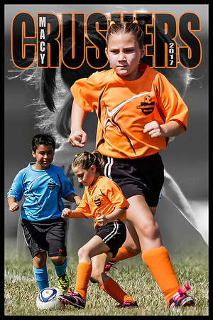 Macy Soccer Print 12x18