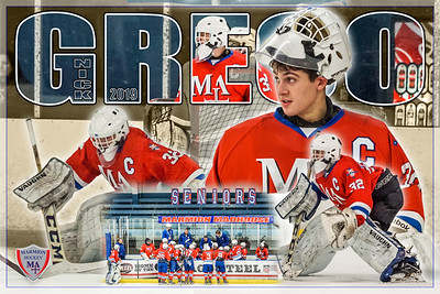 2019 Nick Greco Hockey Poster 11