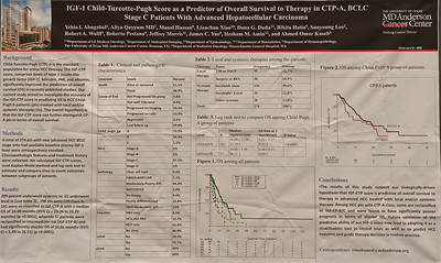 Poster Session B: Hepatobiliary Cancer, Neuroendocrine/Carcinoid, Pancreatic Cancer, and Small Bowel Cancer