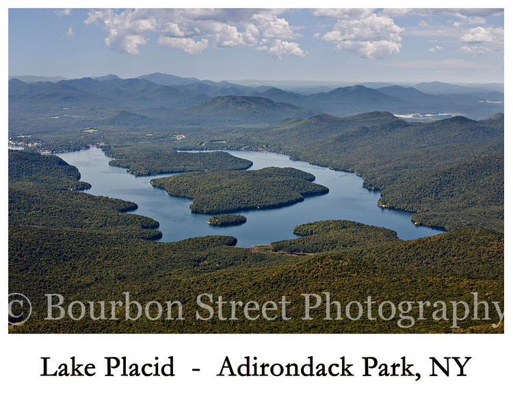 Lake Placid from Whiteface Mountain