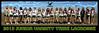 2013 Junior Varsity Tribe Lacrosse Team Poster